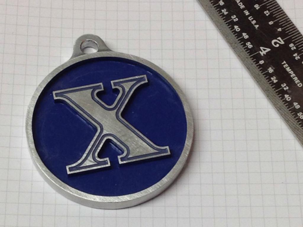 X Marks the Spot - DIY Key Chain